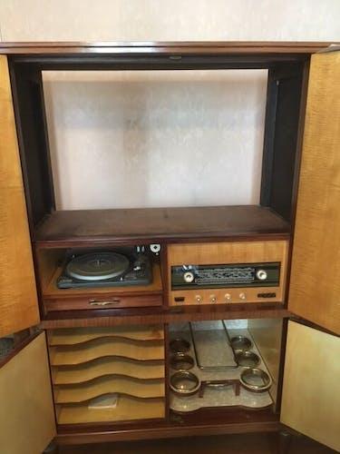 Meuble tv-hifi années 60