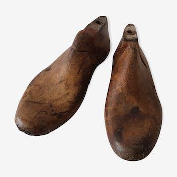 Ancien moule de fabrication de chaussures
