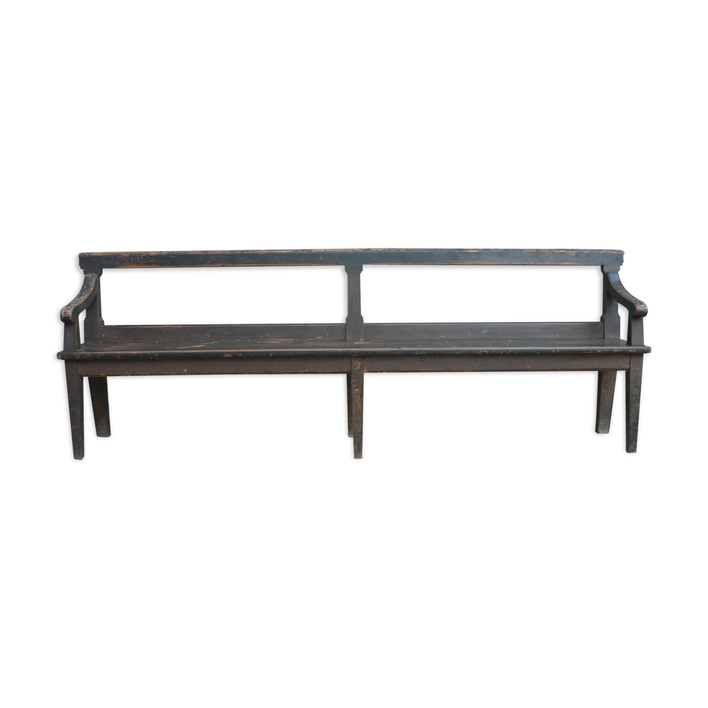 Banc De Ferme Ancien Grande Table De Monastre Ancienne Table De  # Banc De Ferme Dossier