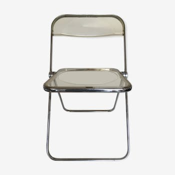 Plia Piretti chair for Castelli c905 translucent italian design 1967