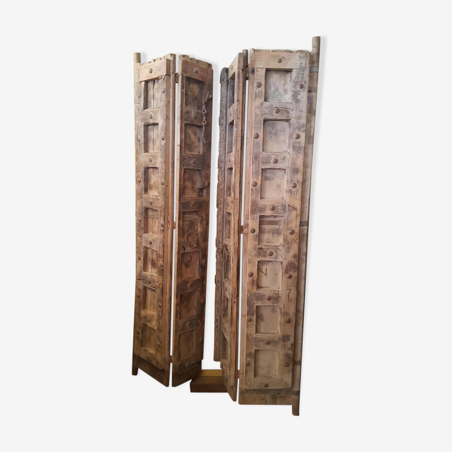 Porte indienne double vanteaux XIXeme