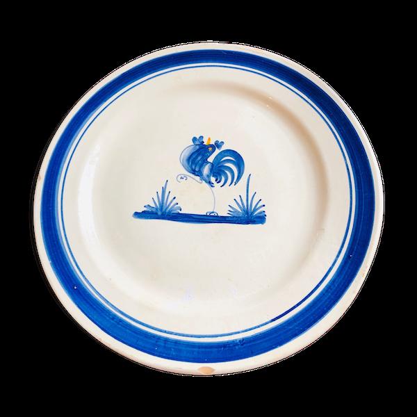 Assiette en terre cuite «oiseau»