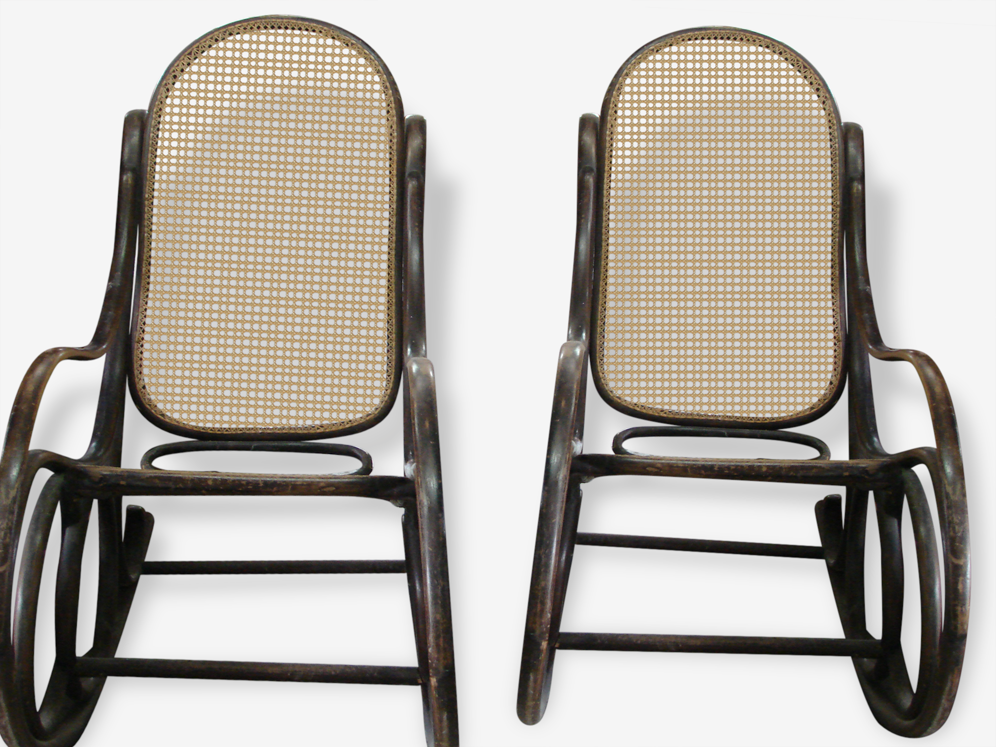Thonet, rocking-chair vintage