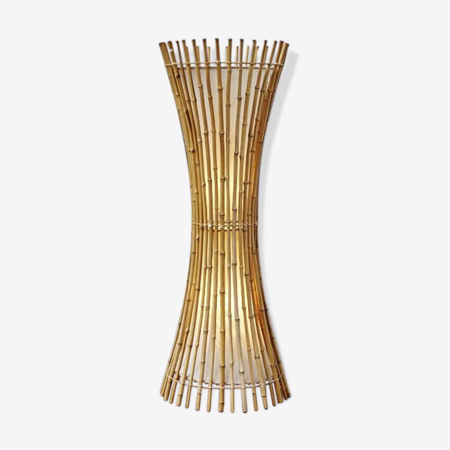 Italian lamp floor bamboo