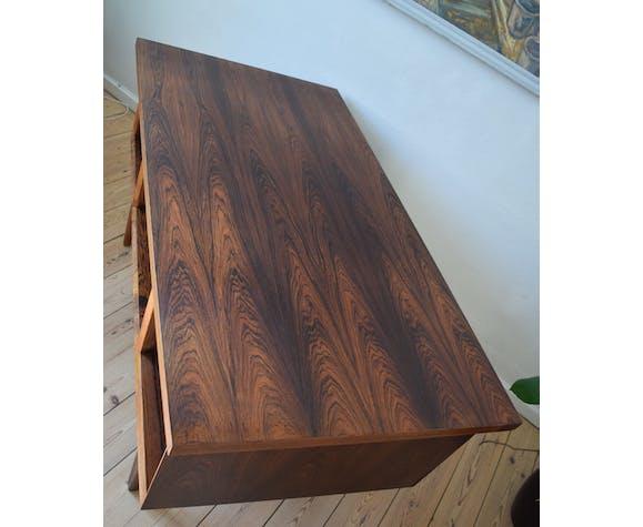 Mid-century danish floating rosewood desk, 1960