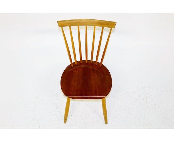 """Chaise à bareaux """"Pinnstol"""", Suède, 1960"""