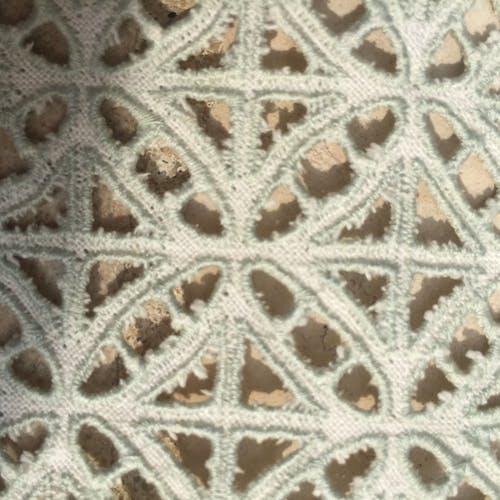 Nappe ancienne en coton brodée