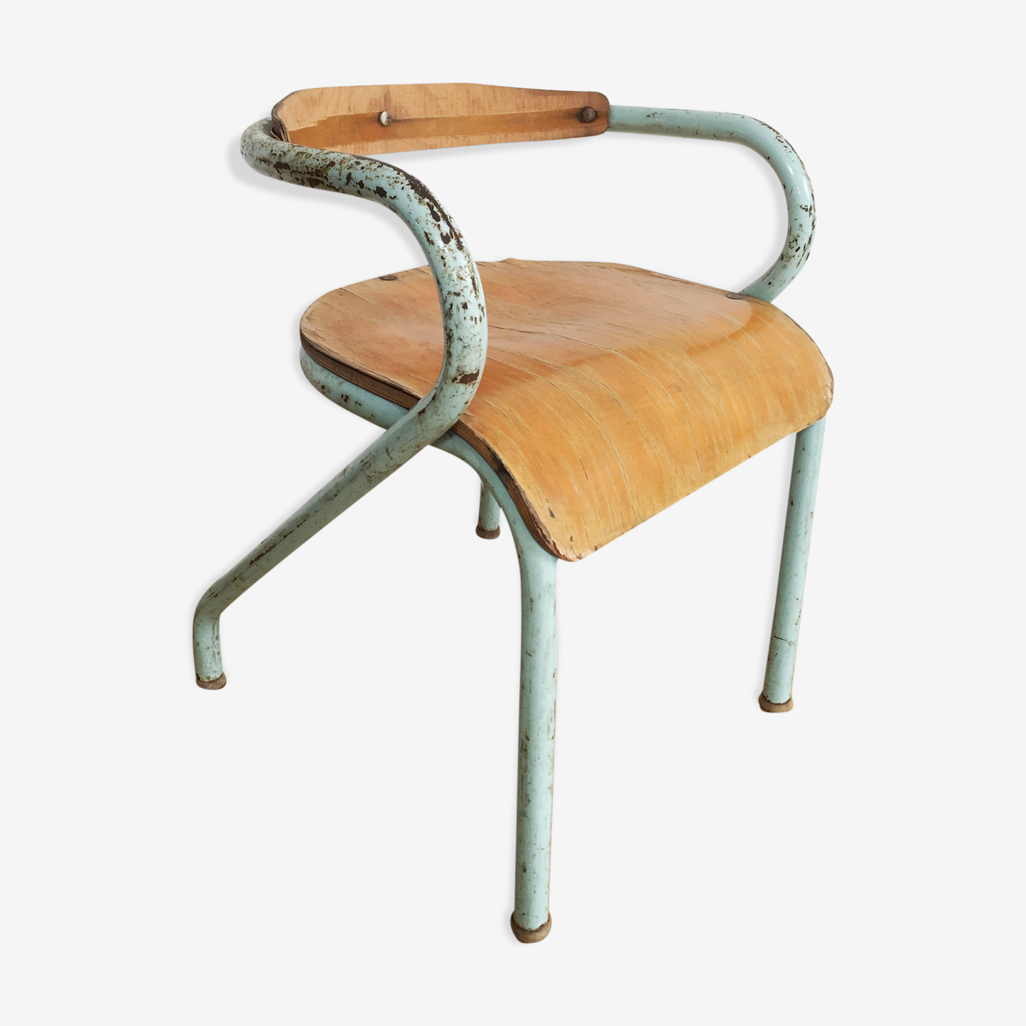 Chaise Mullca 300 Jacques Hitier 1950