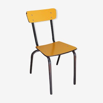 Chair vintage yellow
