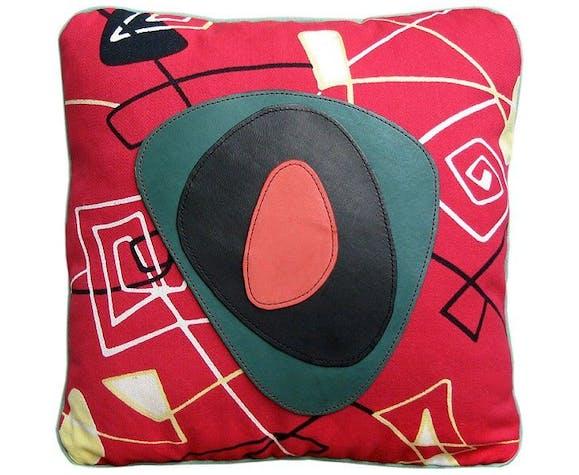 "Coussin tissu vintage ""Calder"""