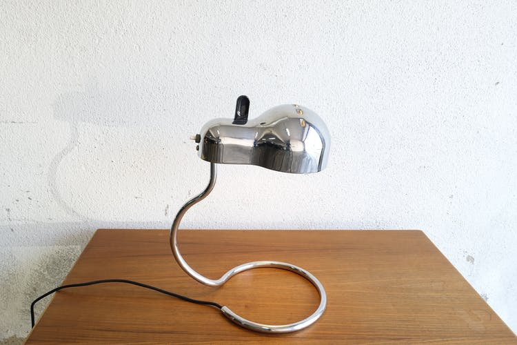 Mini Topo desk lamp by Joe Colombo for Stilnovo, 1970's