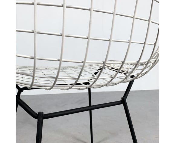Wire chair by Harry Bertoia for Knoll, 1950