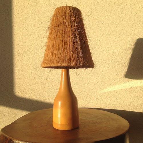 Lampe vintage en ceramique 1960