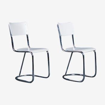 Paire de chaises de salle à manger des années 1950 par Toon de Wit