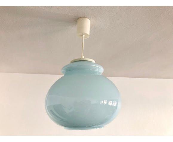 Sky blue opaline hanging