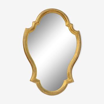 Miroir doré 64x43 cm