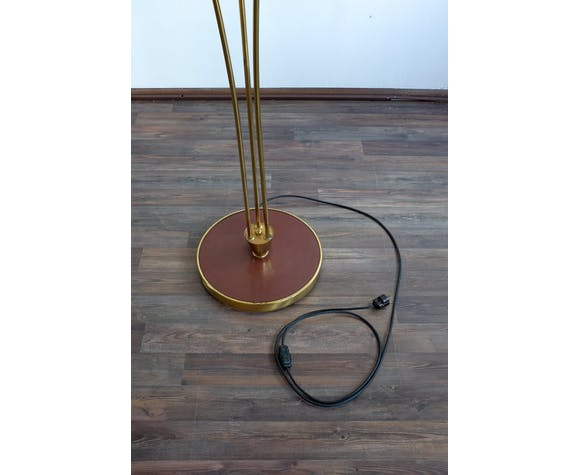 Vintage floor lamp three rods