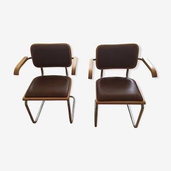 Paire de fauteuils