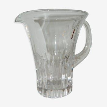 Pichet en cristal
