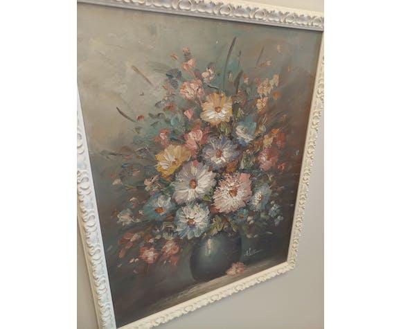 """Peinture """"bouquet de fleurs"""""""