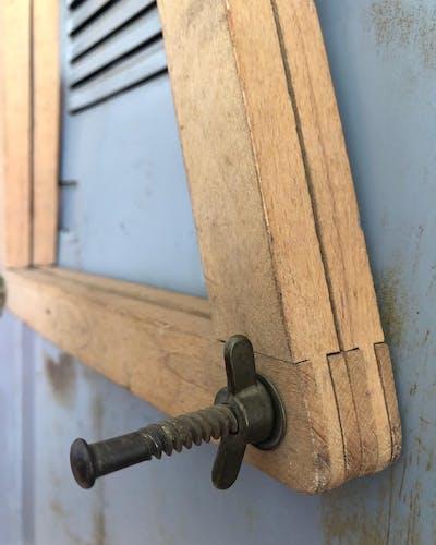 Raquette vintage Spring en bois