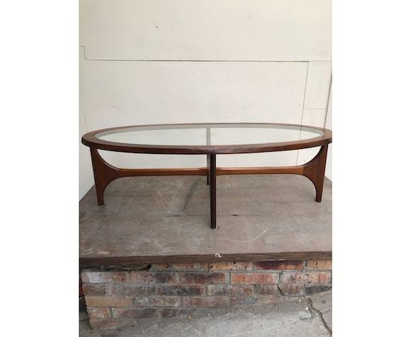 Table basse G-Plan ovale