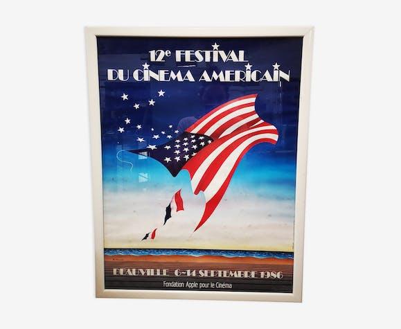 Former poster american film festival Deauville - 1986 ph. bonnard