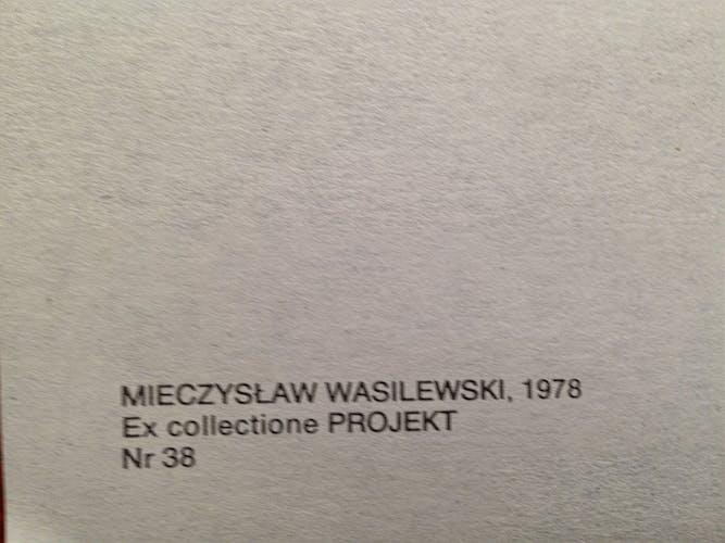 Affiche originale du film polonais d'un film américain «Trois femmes», de Mieczyslaw Wasilewski, 1977
