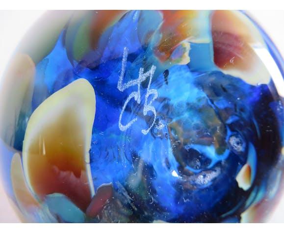 Vase verrerie de Clichy