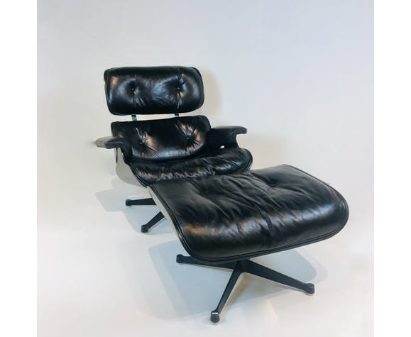 Lounge chair par Charles & Ray Eames pour Herman Miller, USA 1970s