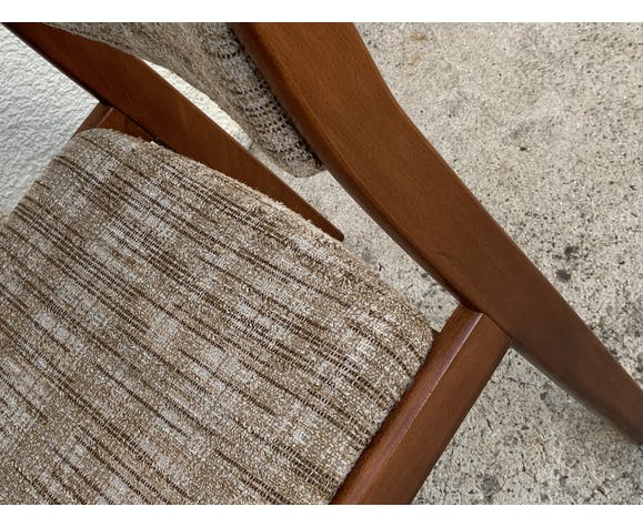 Paire de chaises vintage 1970