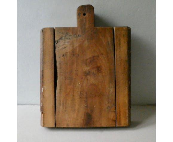 Planche à découper billot en bois brut