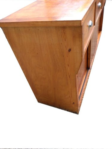 Craft furniture 4 drawers 3 sliding doors