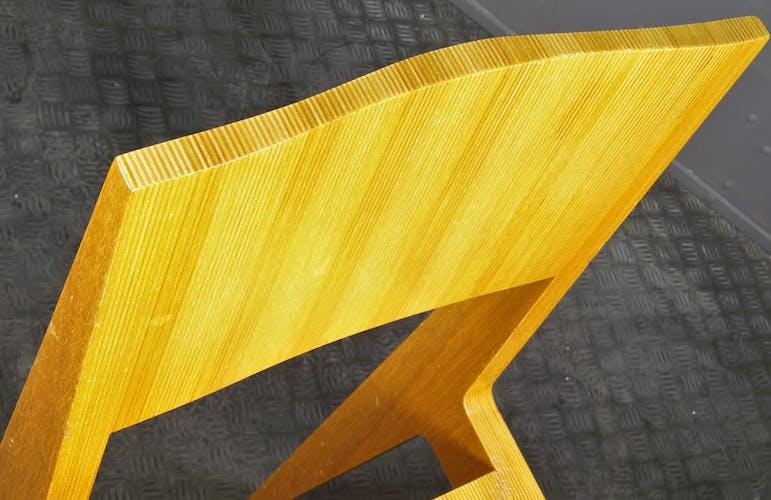 Set of 4 Tom Spectrum design chairs