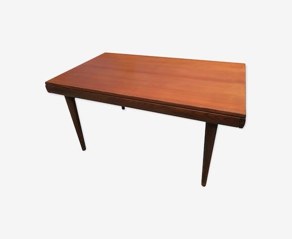 table design scandinave avec rallonges int gr es 1950 1960. Black Bedroom Furniture Sets. Home Design Ideas