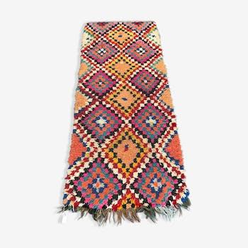 Carpet boucherouite 230 x 100 cm