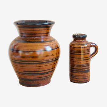 Marzi and Remy ceramic vase duo