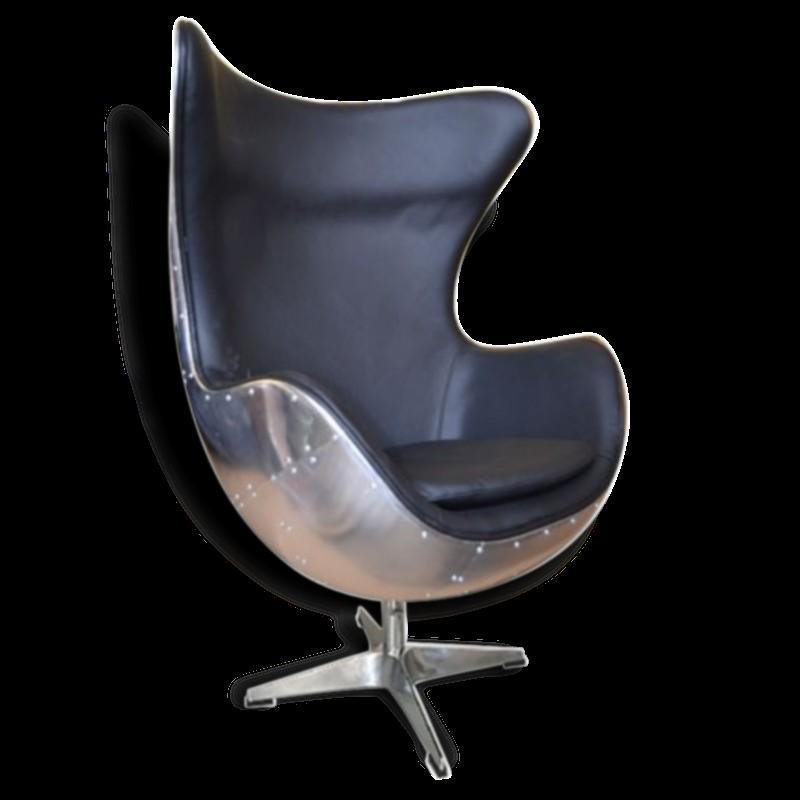 Fauteuil aviateur cuir alu good paire de fauteuils club - Fauteuil aviateur cuir alu ...