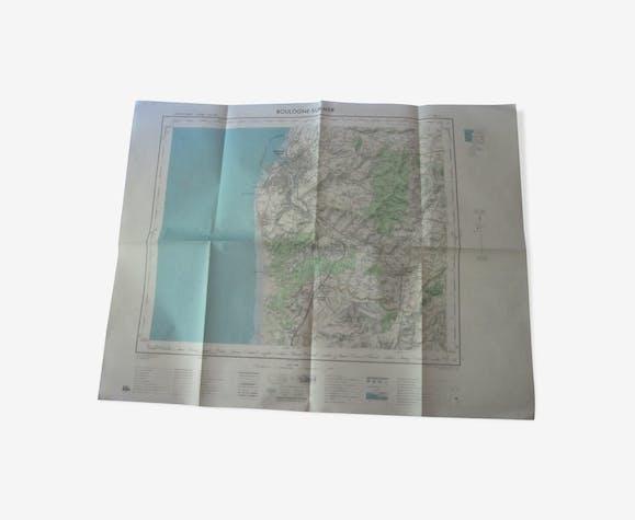 Boulogne-sur-mer map