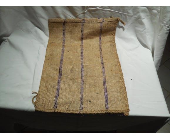 Salt old burlap bag