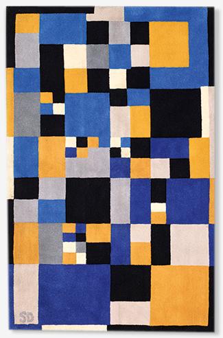 Tapis moderne d'après Sonia Delaunay