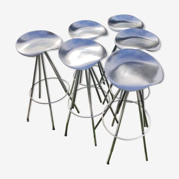 Jamaica bar tabouret by Pepe Cortes