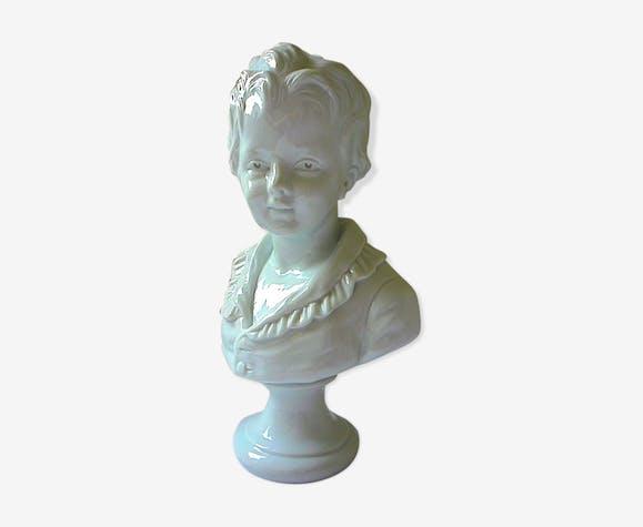 Buste en porcelaine d'Alexandre Brongniart par Houdon