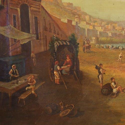 Paysage marin Port de Naples