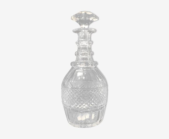 St. Louis crystal carafe model Trianon, 20th century