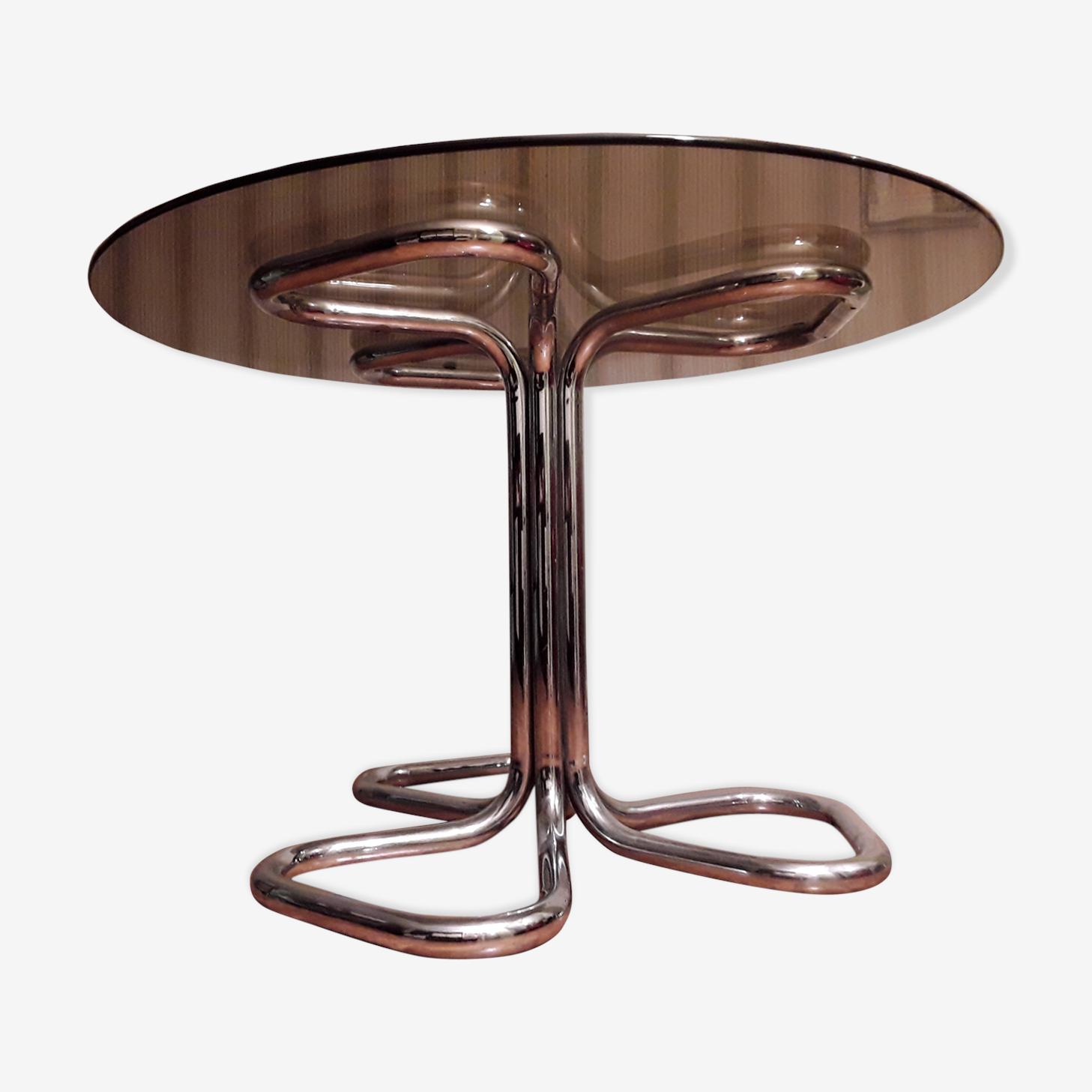 Table en verre 1970'