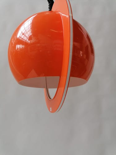 Lustre orange Rolly - Italia 1972