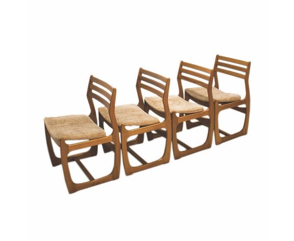 Set of 60s English chairs