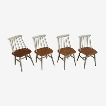 Set of 4 chairs Fanett of Edsby