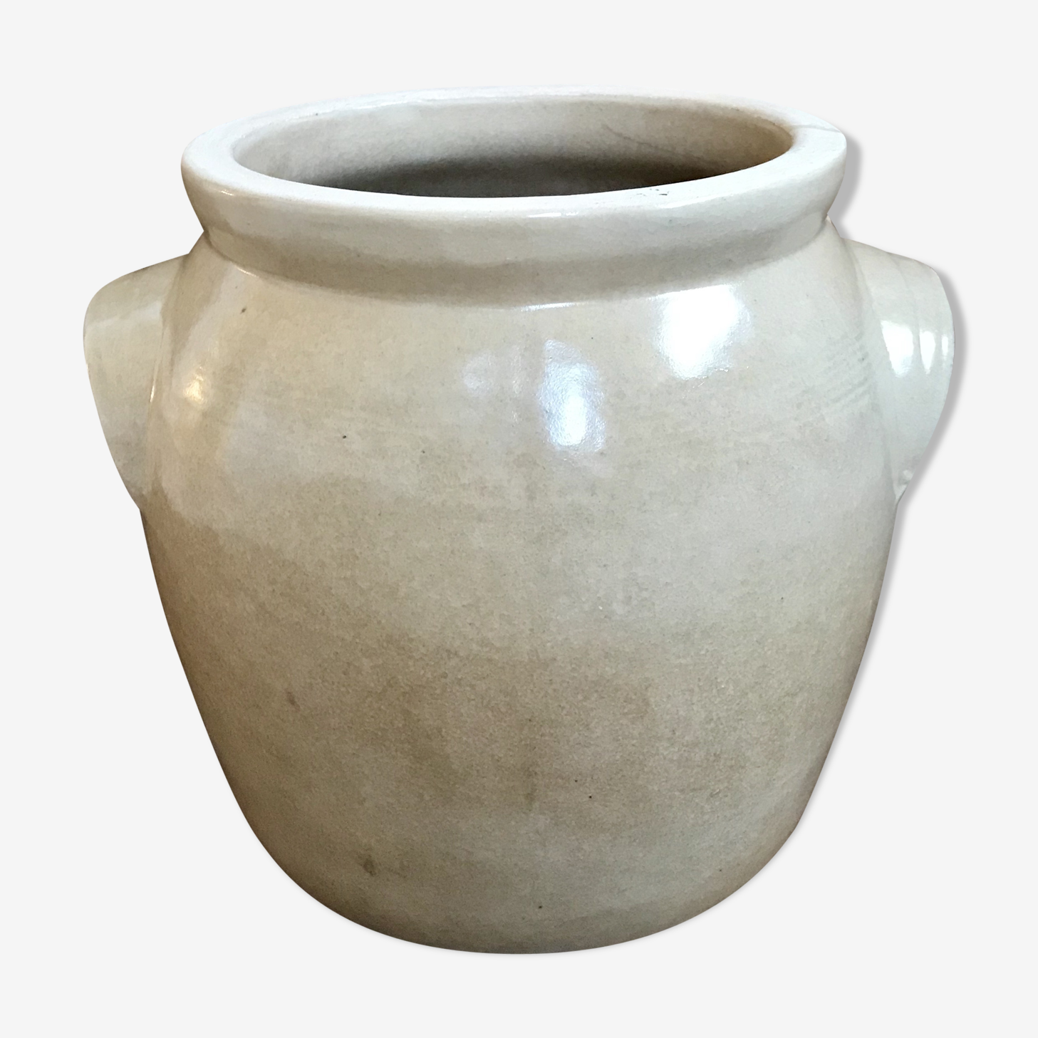 Enamelled stoneware